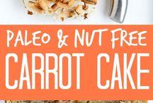 Paleo carrotcake
