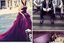 SHADES OF PURPLE   Wedding Ideas