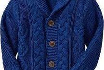 ideas para tejidos de pullover niños