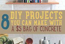 Concrete ideas / To get inspiration...