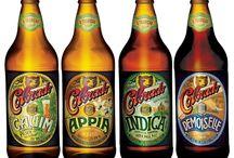 Rótulos de cervejas artesanais
