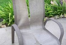 out door chair revamp