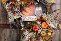Autumn wall decor / by Andrea Powell