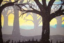 Kuvataide Puut
