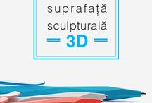 Pixuri Promotionale 3D / Cu suprafete triunghiulare, sculpturale ori personalizablie, pixurile #3D vor oferi utilizatorilor o experienta tactila memorabila. In plus, elementele minimaliste, tipurile variate de culori si procesul inovator de personalizare vor adauga personalitate si identitate brandului transpus.