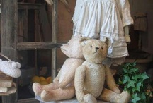 Teddy Bears / inspiration for sewing teddy bears..