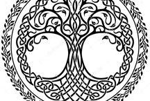 viking rune mandala