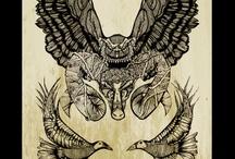 My art / My artwork , artist , posters , drawings