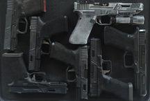 Guns and stuff!