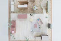 models shelf