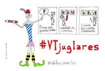 #VTjuglares proyecto colaborativo / Visual Thinking, storytelling y oralidad