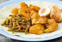Aardappel Vlees en Groente