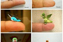 mini animales crochet