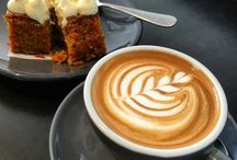 Coffee and cake in Exeter