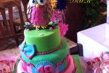 Torta gufo / Cake designer