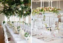Wedding decor hanging