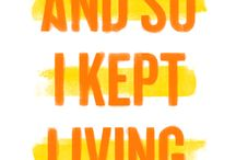 """WSPD16 """"And so I kept living."""" / World Suicide Prevention Day Campaign for 2016"""
