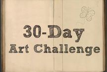 """30-Day Art Challenge / A place to share and encourage each other with our drawings. """"...whatsoever ye do, do all to the glory of God..."""" 1 Cor. 10:31"""