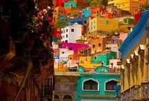 Mexico / Vibrant Colour Design of Mexico