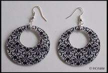 Boucles d'oreille / Boucles d'oreille faits de mes petites mains ! Pour me suivre : http://www.facebook.com/FilAdelie Plus d'informations dans ma boutique en ligne : http://filadelie.alittlemarket.com