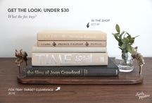 GET THE LOOK: TRAYS // FAIRLY MODERN / Inspiration for your home.