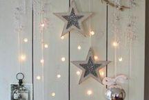Steigerpkanken als kerst versiering