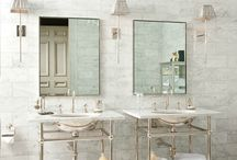 French Inspired Bathrooms