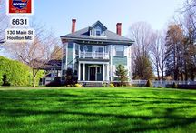 SOLD | 130 Main Street Houlton Maine / The Home For Sale At 130 Main Street Houlton Maine Features 5 Fireplaces, 5+ Bedrooms, 3.5 Baths And Woodwork, Marble, Granite, Frosted And Stained Glass. Add In The 1.3 Acre Lot That's Nearly 500' Deep, 154' Wide With Circular Driveway. And Well, You Watch The Video Tour That Shows The Sun Room, Gazebo, 3 Levels Of Living Space! Ideal Bed And Breakfast Option, Or Place To Telecommute To Work! There Is Amazing Internet Connectivity In Houlton Maine, Aroostook County's Oldest Town. $269,500!
