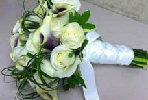 Bridal Bouquets / Custom bridal bouquets from Bassett Flowers, New City, NY wedding floral designers.