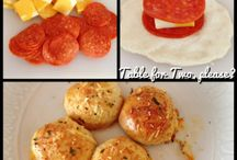 Lunches for Two / Lunches that are made for two people! Step by step photos make it easy to cook!