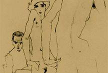 Egon Schiele / Egon Schiele, expressionisme