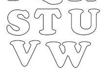 letras para rotular