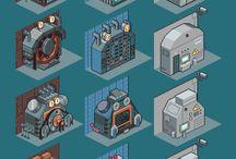 pixel A ( machine )