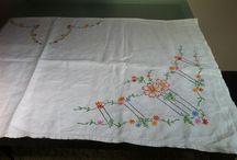 Irish embroideries