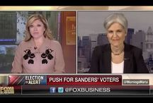 ~Jill Stein~The 3rd candidate to the presidency of the USA... she makes sense.