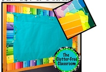 Creative backboards in the classroom