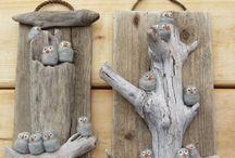 Drift wood art