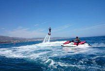 flyboard watersports in Puerto Banus, Marbella. / flyboard watersports in Puerto Banus, #Marbella with Experience Box
