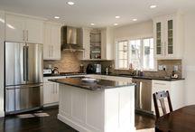 kitchen with island layout