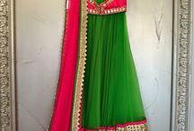 Half Sarees  / Our culture's colourful Langa Dhawni