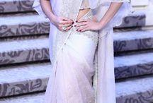 Party wedding wear / Lehenga saree gown