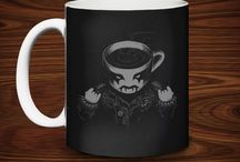 MUGS / Be sure to check back to see what sweet designs we brew up!  / by TeeFury
