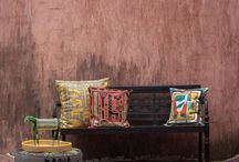 Crafty Cushions / Embroidered cushion covers for home decor, handmade with love from Africa.