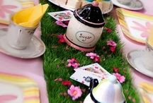 Alice party / Madhatter tea party fun