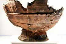 Viking woodturning