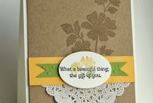 Begin This Hobby! / Card Stamping, Stampin' Up!