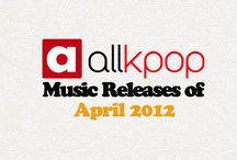 Monthly Music Releases / by allkpop