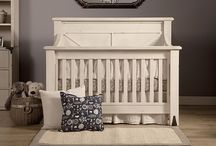 Providence 4-in-1 Convertible Crib / Inspired by turn-of-the century steamer trunks, the 4-in-1 Convertible Providence Crib brings stately elegance to the nursery. With custom metal foot detailing, intricate back-panel woodwork, and hand distressed finishing, the Providence Crib offers a thoughtful mix of sophistication and simplicity. Designed to pair perfectly with the Providence 6-drawer dresser.