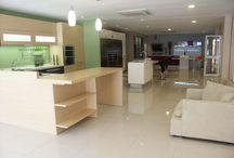 OPPEIN Showroom in Mauritius / There are a variety of OPPEIN Kitchen Cabinet designs that are displayed in Mauritius