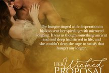 Her Wicked Proposal Teasers / These are teasers for my book Her Wicked Proposal releasing Jan 19, 2016. please share away!